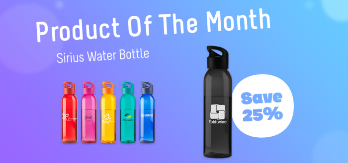 Sirius Water Bottle - Product of the Month Review